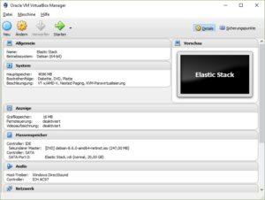 Elastic Stack VM