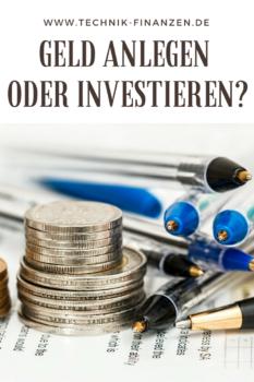 Wohin mit dem Geld? Lieber auf ein Konto anlegen oder doch lieber investieren und höhere Gewinne erzielen?