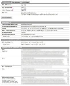 All-inkl ssl Zertifikat erstellen