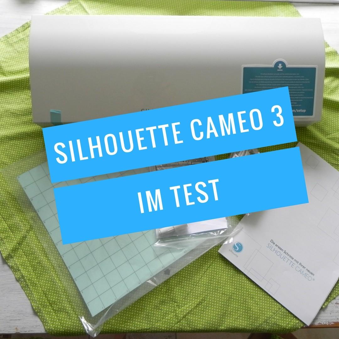 Silhouette Cameo 3 Test Pinterest