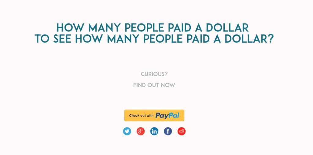 Paid Dollar reich sein