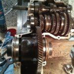 Trabant 601 Getriebe offen