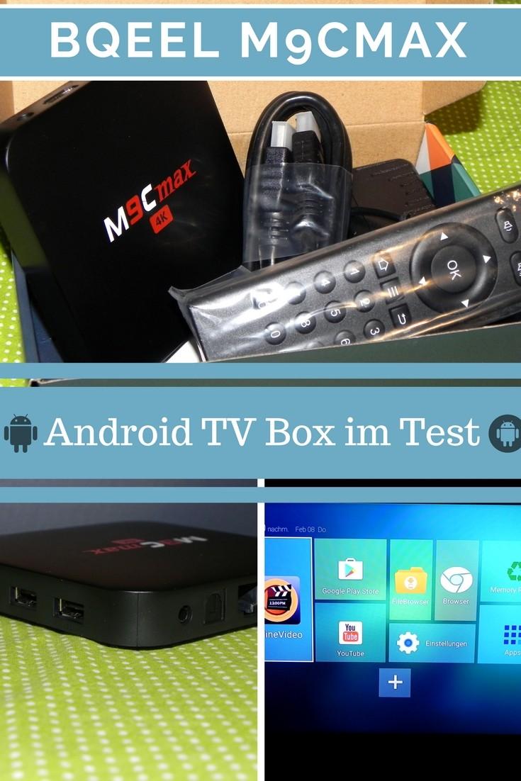 Die Android TV Box Bqeel M9Cmax im großen Test für Streaming und KODI