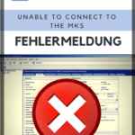 VMware Unable to connect to the MKS Fehler