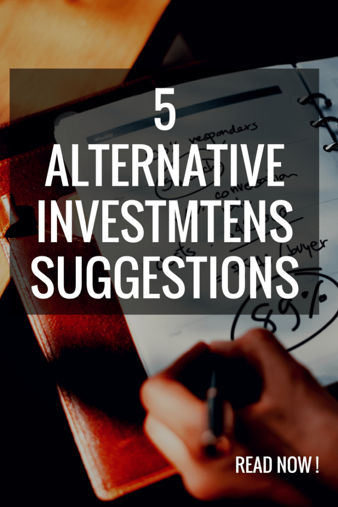 Do you know how to invest in an alternative way? Here are 5 suggestions how to invest your money