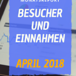 Besucher und Einnahmen April 2018