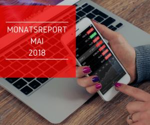 Monatsabschluss Mai 2018. Alle Besucherzahlen, Einnahmen und Ausgaben auf einem Blick. Was konnte ich mit meinem Blog verdienen?