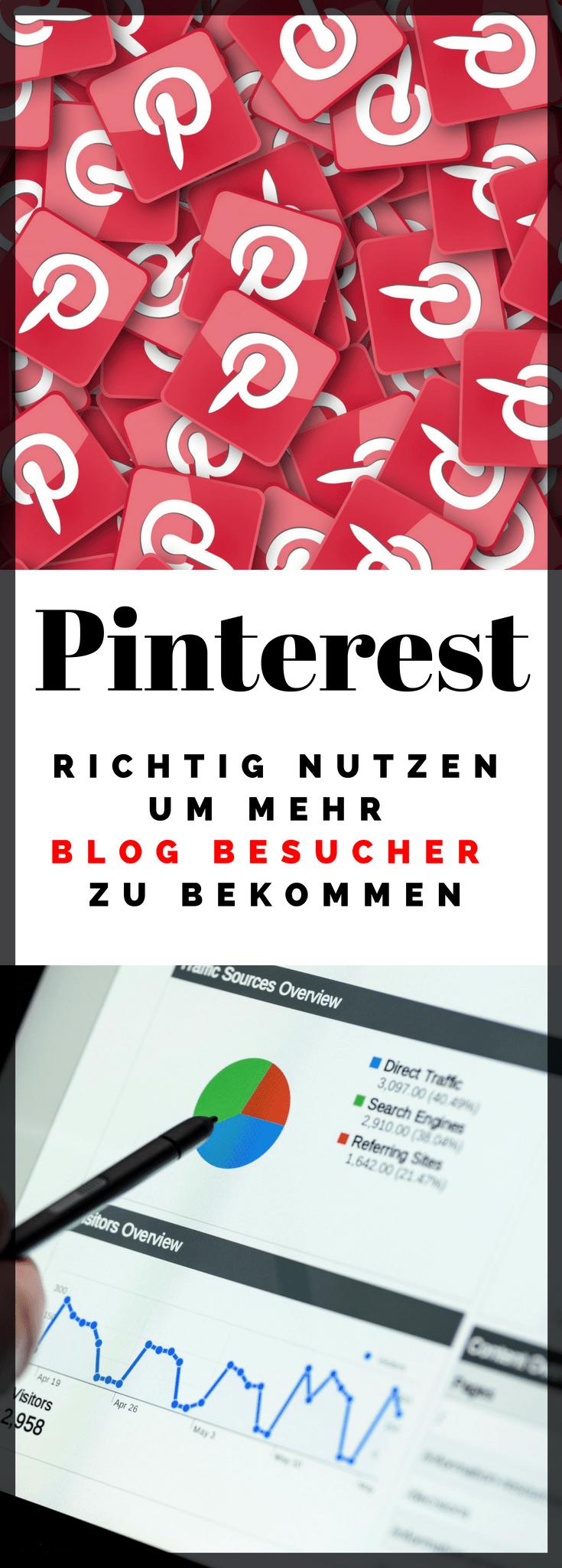 Pinterest ist für Blogger eine super Plattform um mehr Besucher zu bekommen und den Traffic zu steigern. Es gibt bei Pinterest und der Anmeldung und Einrichtung jedoch einiges zu Beachten.