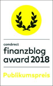 finanzblog award 2018