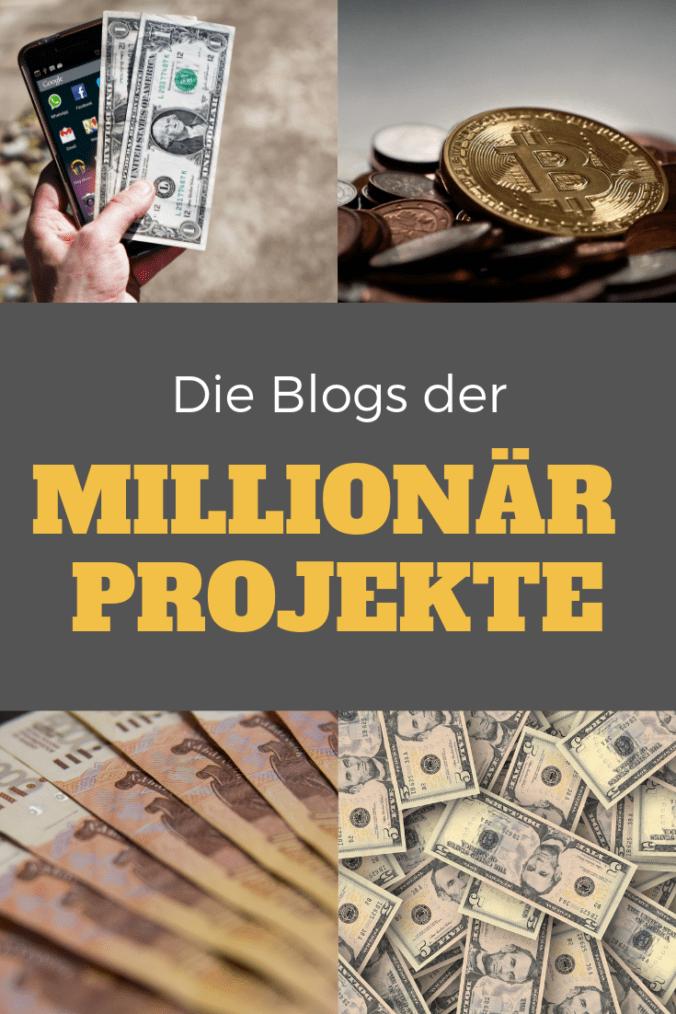 Top 5 Blogs der Millionär Projekte