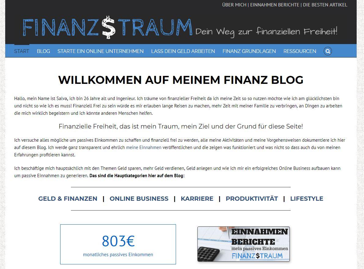 Der Finanztraum Blog