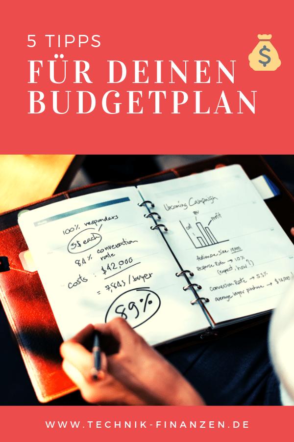 5 Tolle Tipps endlich sein Budget auf die Reihe zu bekommen und einen Überblick über Einnahme und Ausgaben zu haben. Wo lässt sich Geld sparen und für was gibt man unnötig Geld aus.