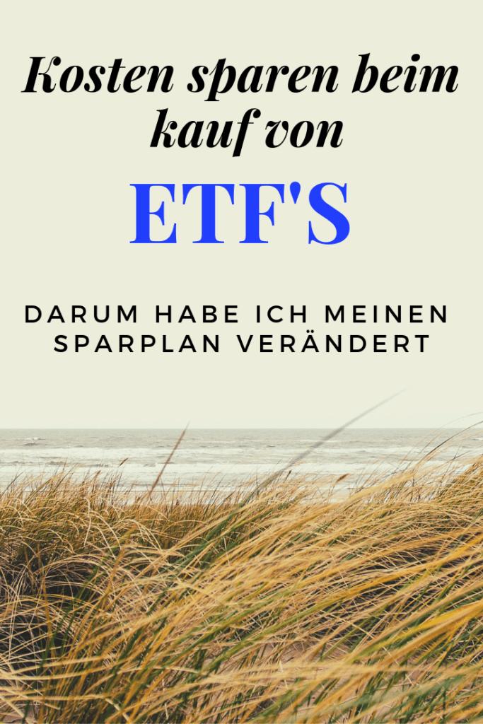 Warum ich meinen ETF Sparplan geändert habe und jetzt x-trackers kaufe? Ich möchte kosten sparen, denn die Ordergebühren gehen über die Jahre ordentlich ins Geld.
