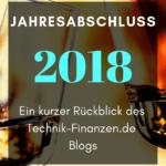 Jahresabschluss 2018 – Ein kurzer Rückblick