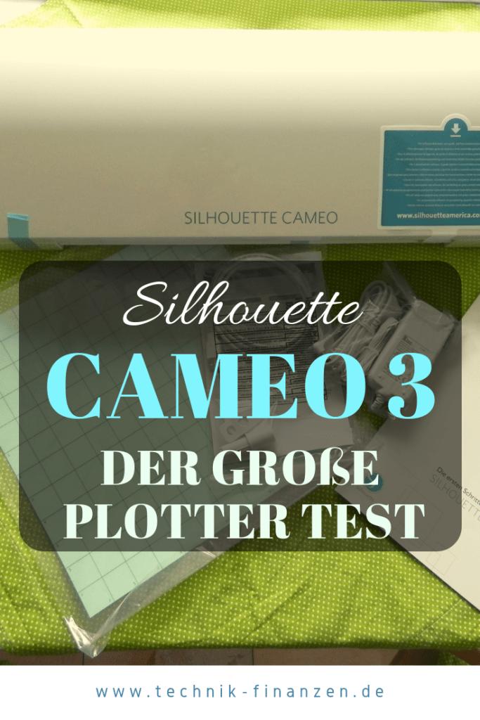Der große Test des Plotters Silhouette Cameo 3. Wie schneidet der Plotter Silhouette Cameo 3 im Alltag so ab. Lohnt sich der kauf für Hobbie Bastler?  #cameo3 #cameo #silhouette #plotter #silhouettecameo3