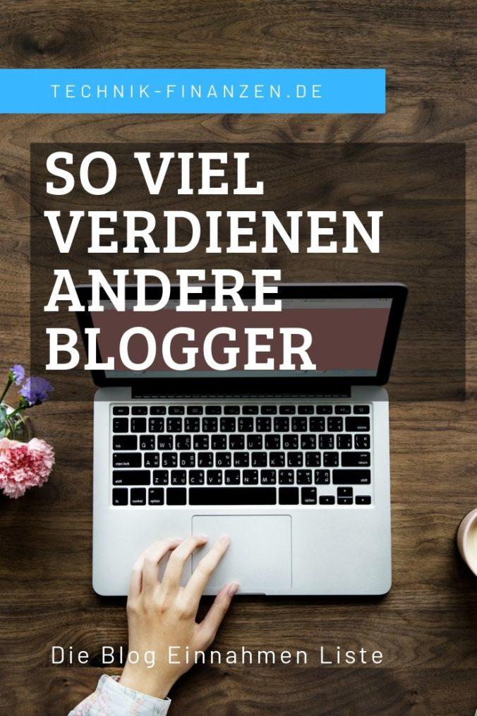 Blog Einnahmen Liste - So viel verdienen die Blogger weltweit.
