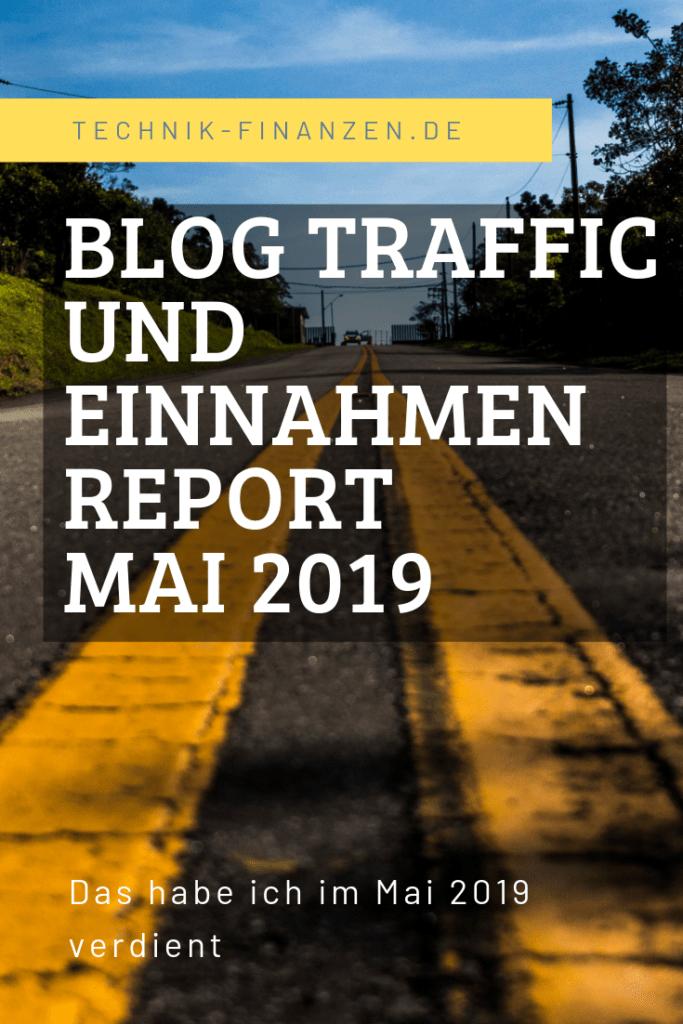 Blog einnahmen Mai 2019