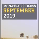 Monatsabschluss September 2019 und erster P2P Invest