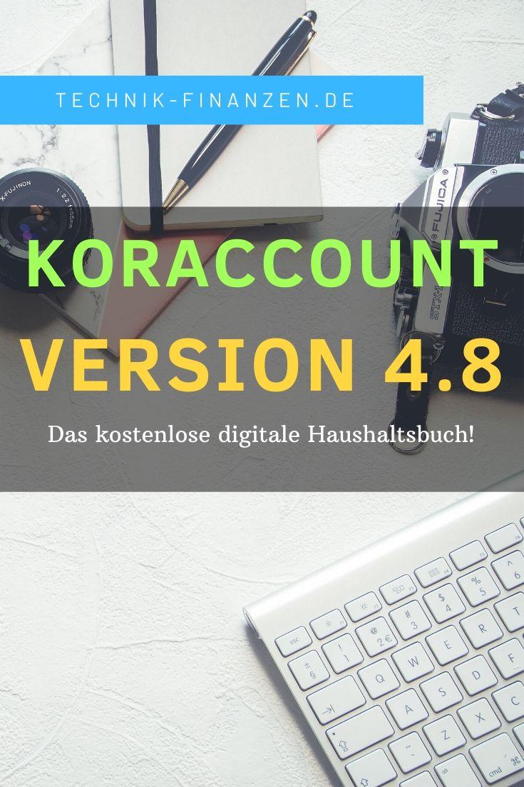 koraccount haushaltsbuch in version 4.8 erschienen.