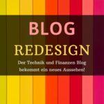 Aus Alt mach Neu – Blog Redesign