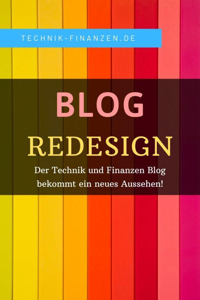 Ein neues Design für den Technik und Finanzen Blog. Alle infos zum Redesign.