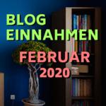 Einnahmen Februar 2020