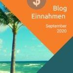 September 2020 – Einnahmen aus P2P und dem Blog Business