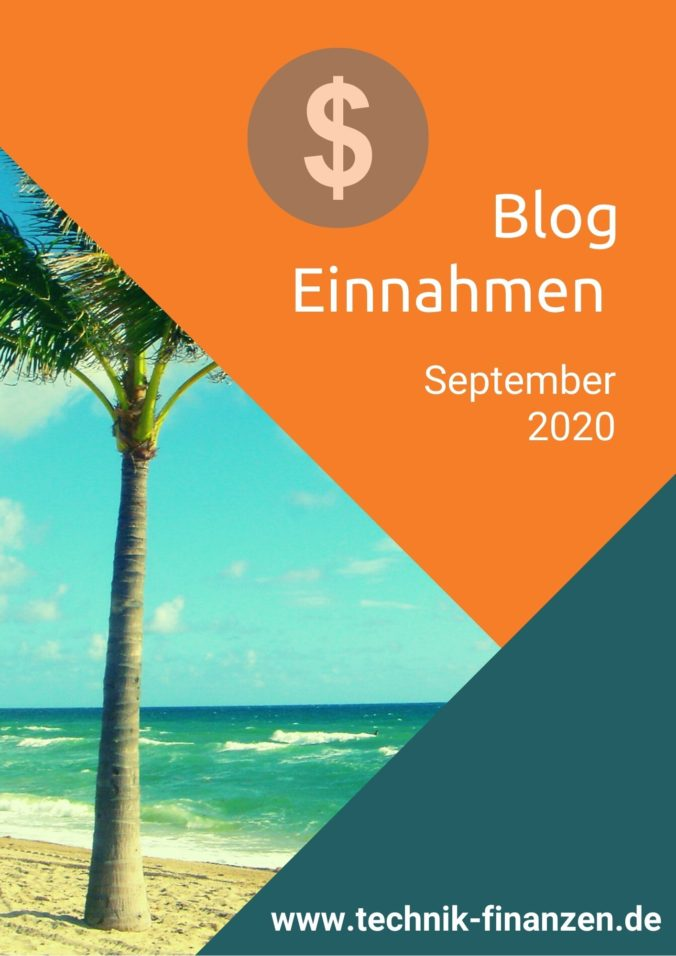 Einkünfte Blog September 2020