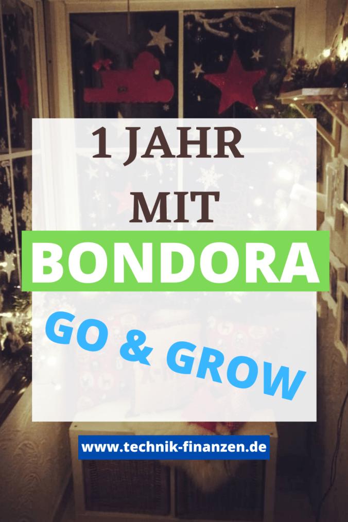 Ich bin seit einem Jahr bei Bondora investiert.