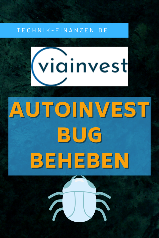 Viainvest Autoinvest legt kein Geld an