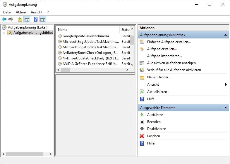 Aufgaben Priorisieren Windows